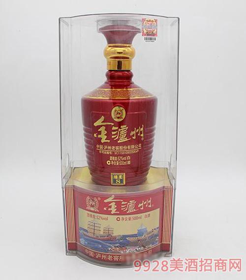 金泸州白酒52度500ml