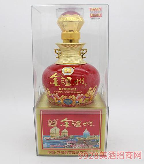 金泸州白酒500ml