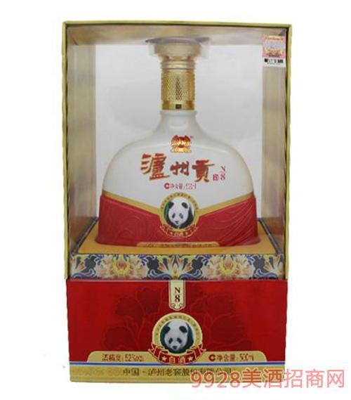 泸州贡白酒N8 500ml
