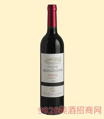 金贵族庄园干红葡萄酒13度