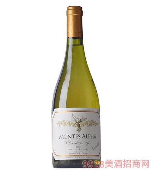 智利蒙特斯欧法莎当妮干白葡萄酒