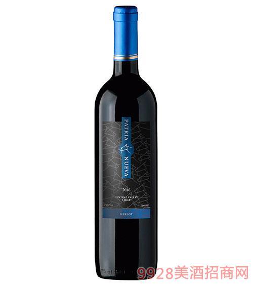 智利帕杰尼精选美乐干红葡萄酒