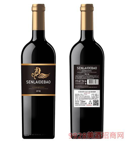 圣�R德堡�R首干�t葡萄酒12度750ml