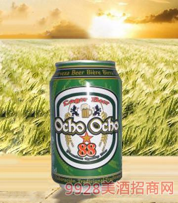 西班牙欧酷啤酒罐装250ml