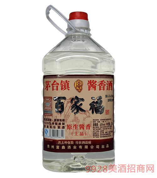 百家福酒原生酱香酒桶装酒