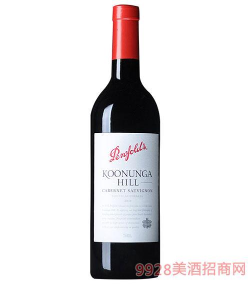 澳大利亚奔富蔻兰山加本力苏维翁红葡萄酒2010
