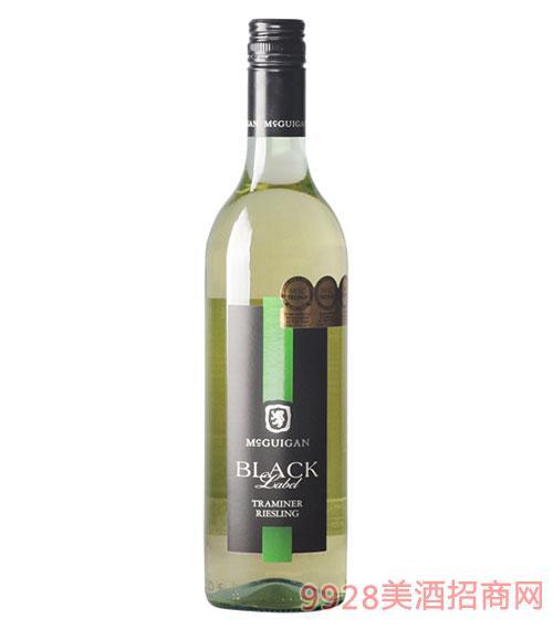 澳大利亚曼克根黑牌雷司 令葡萄酒