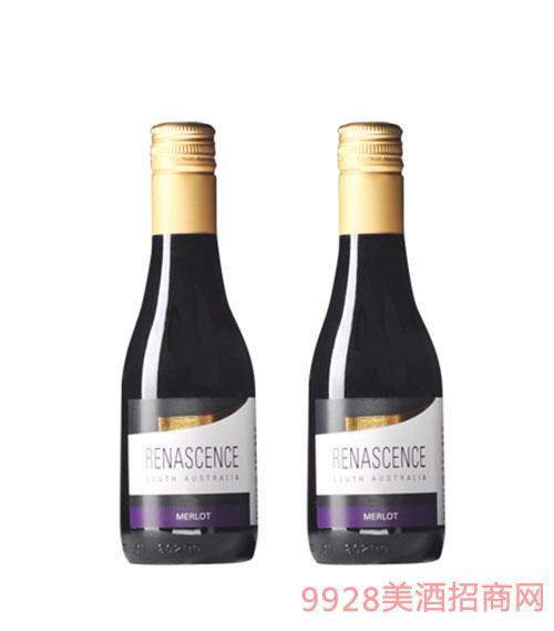 澳大利亚万丽梅洛干红葡萄酒187ml