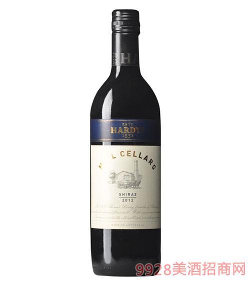澳大利亚夏迪美赛娜西拉干红葡萄酒