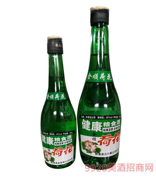金顺荷花酒42度500ml