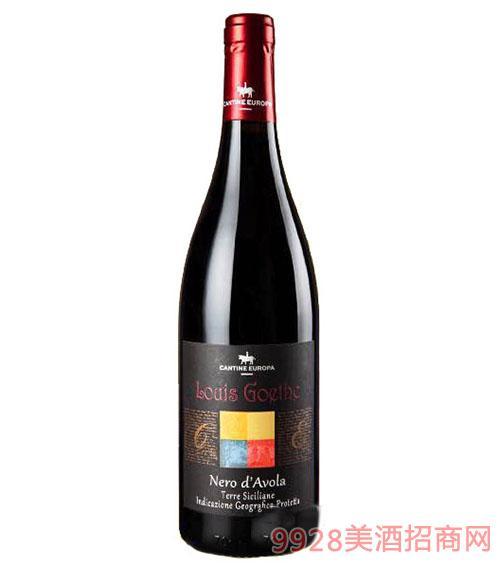 意大利路易斯黑珍珠传说红葡萄酒