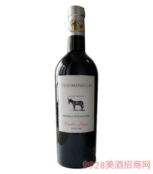 意大利康派倔驴葡萄酒