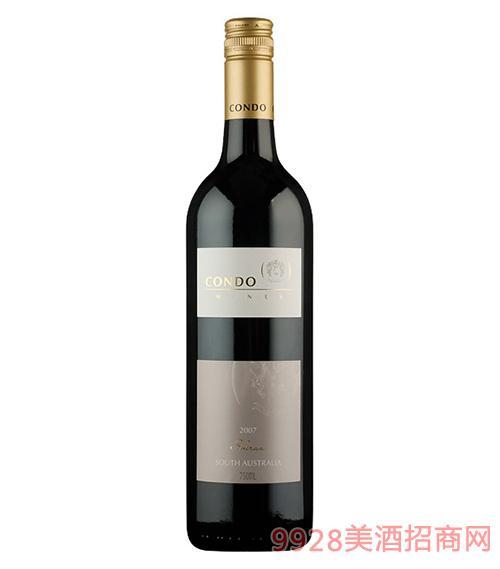 金杜酒庄西拉子红葡萄酒13.5度750ml