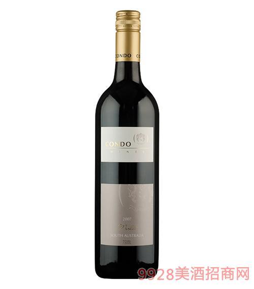 金杜梅洛红葡萄酒13度750ml