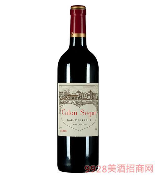 法国卡龙世家原瓶进口红酒2006-13度750ml