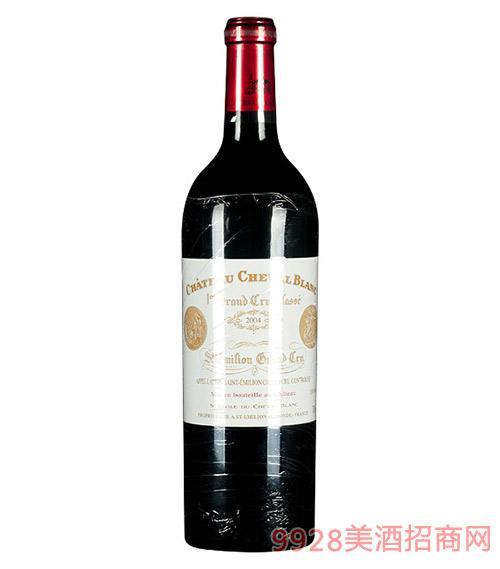 法国白马庄园干红葡萄酒2004-13.5度750ml