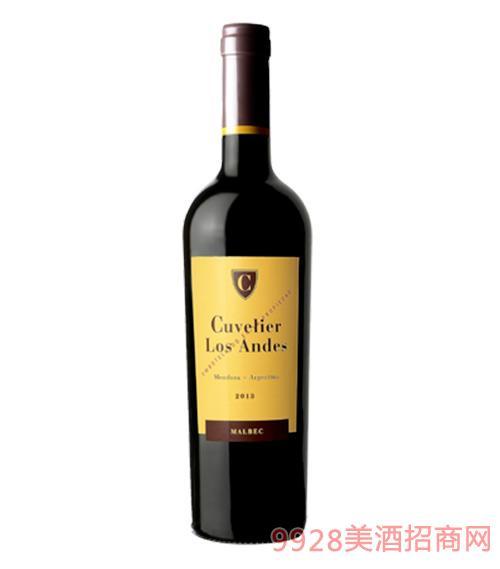 乐夫普勒安第斯马尔贝克葡萄酒