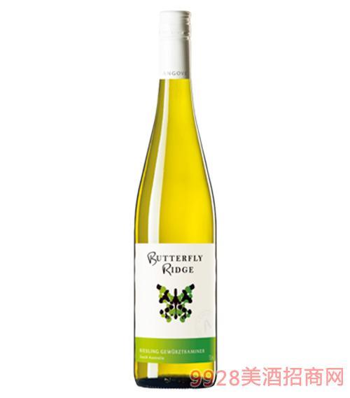 蝶舞雷司 令琼瑶浆白葡萄酒