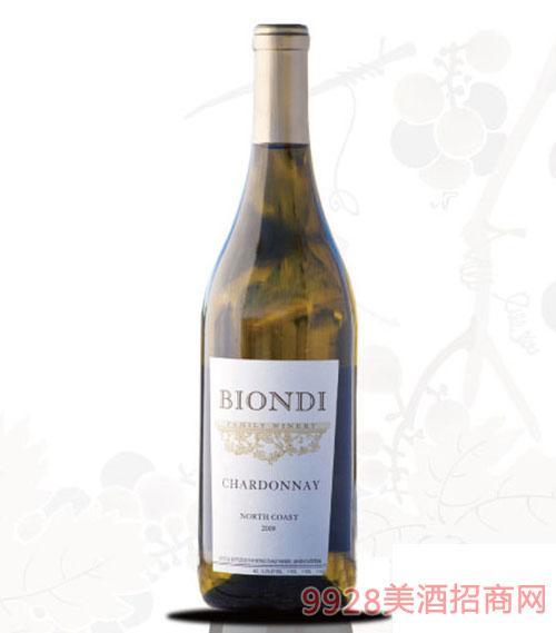 比昂迪霞多丽干白葡萄酒2009
