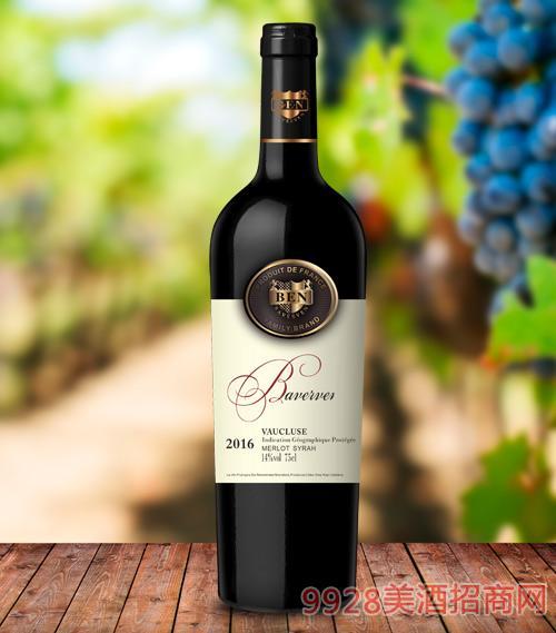 贝尔文家族干红葡萄酒14度750ml