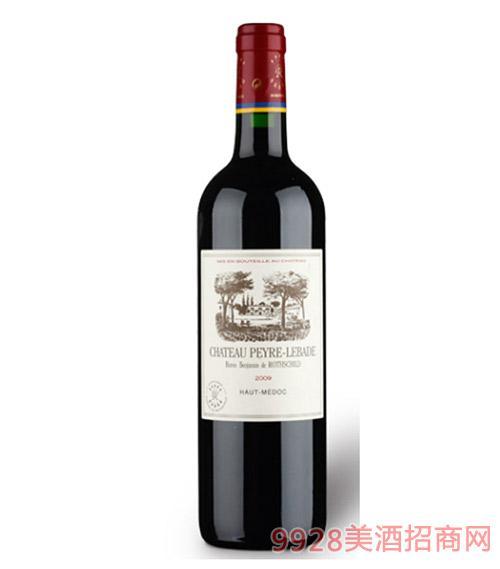 拉菲皮耶古堡干红葡萄酒2011-13度750ml