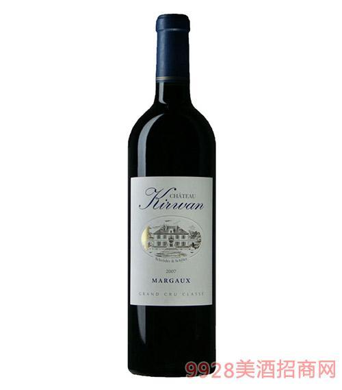 法国奇云城堡干红葡萄酒13度750ml
