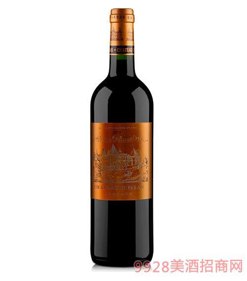 法国迪仙城堡干红葡萄酒2011-13度750ml