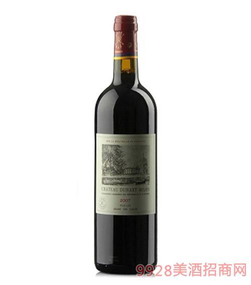 法国都夏美隆干红葡萄酒2011-13度750ml