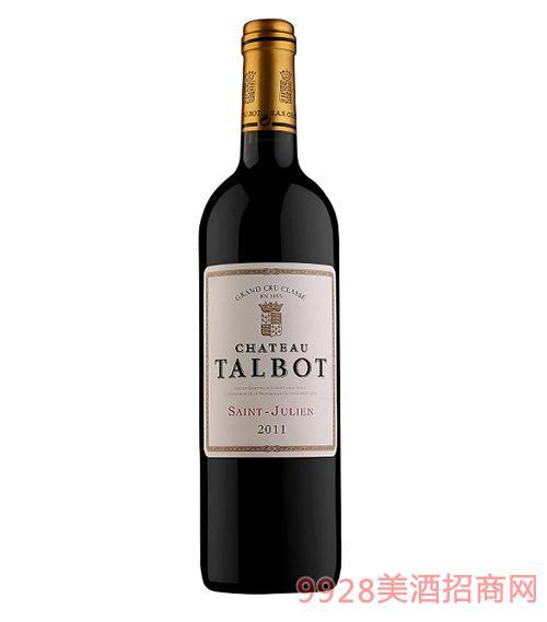 法国大宝庄园干红葡萄酒2011-12度750ml