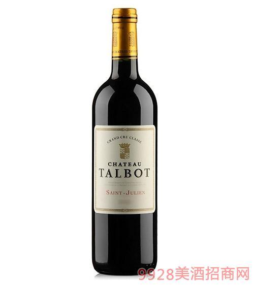 法国大宝庄园干红葡萄酒13度750ml