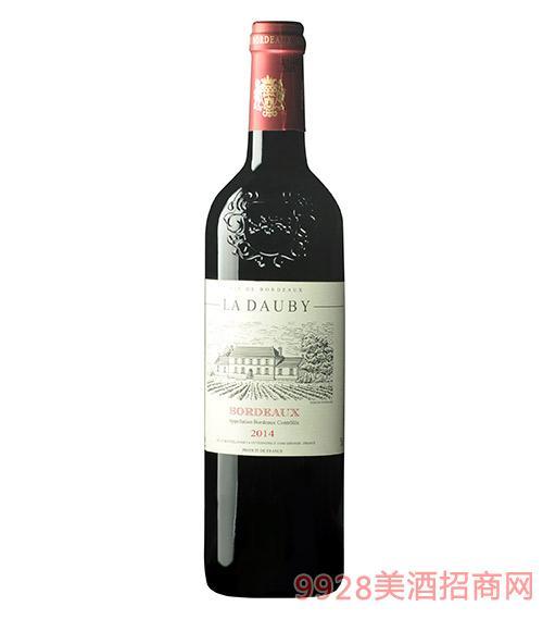 法国德宝红葡萄酒13度750ml