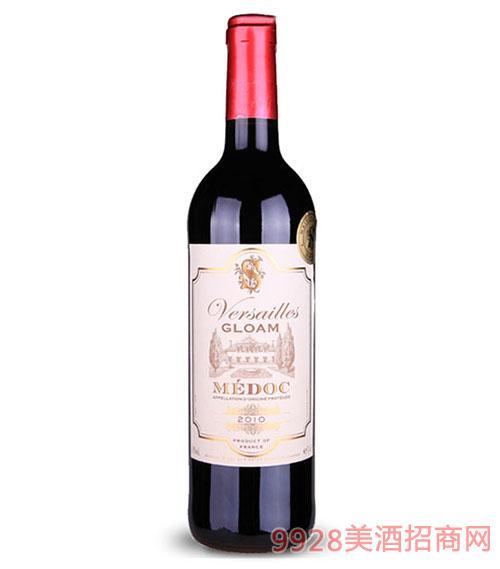 凡尔赛黄昏梅多克干红葡萄酒