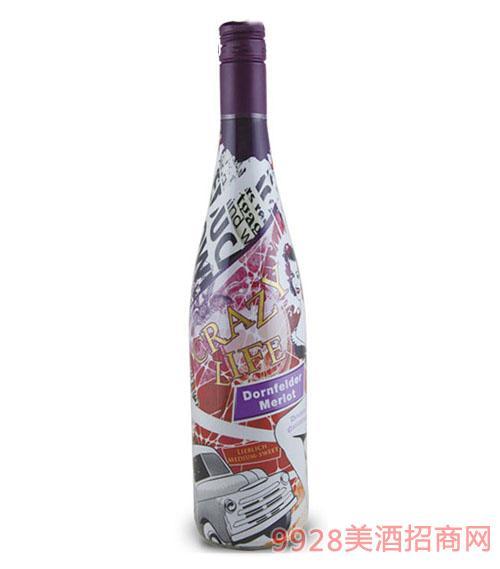 完 美生活梅洛干红葡萄酒