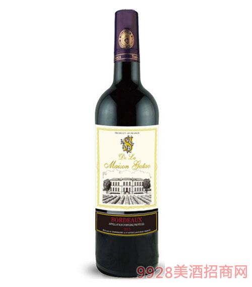 珍藏波尔多干红葡萄酒2015