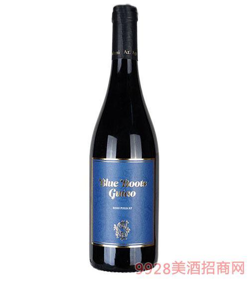 宙斯冰川-蓝靴干红葡萄酒