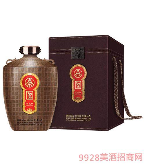 五糧液股份圣酒收藏級60度5L