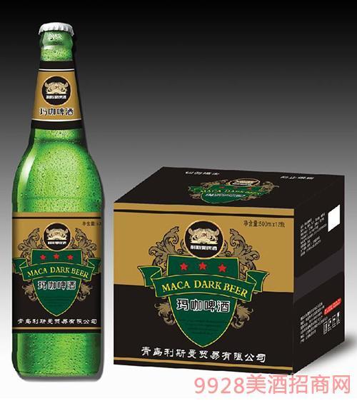 利斯曼玛咖啤酒(绿瓶)500mlx12