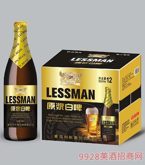利斯曼原浆白啤500mlx12