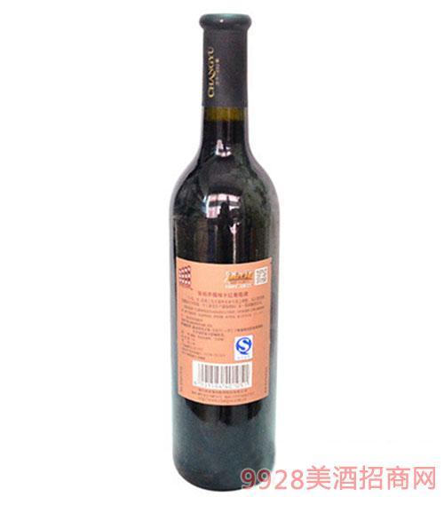 张裕赤霞珠感恩精品干红葡萄酒750ml
