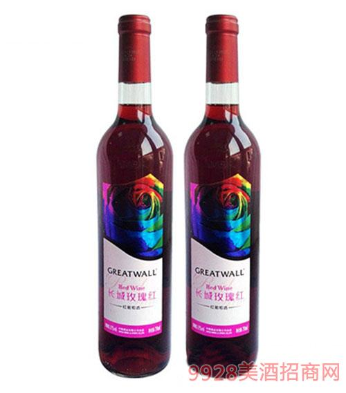 中粮长城小玫瑰甜型葡萄酒