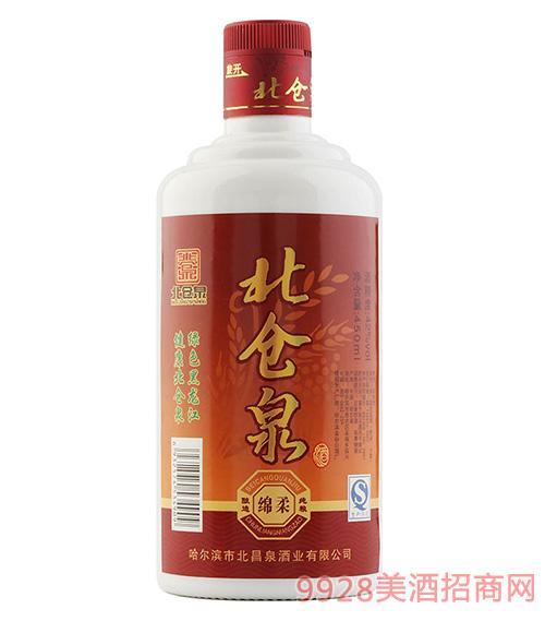 北仓泉精品绵柔酒42度450ml