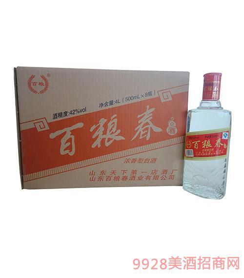 百粮春酒·光瓶42度礼盒