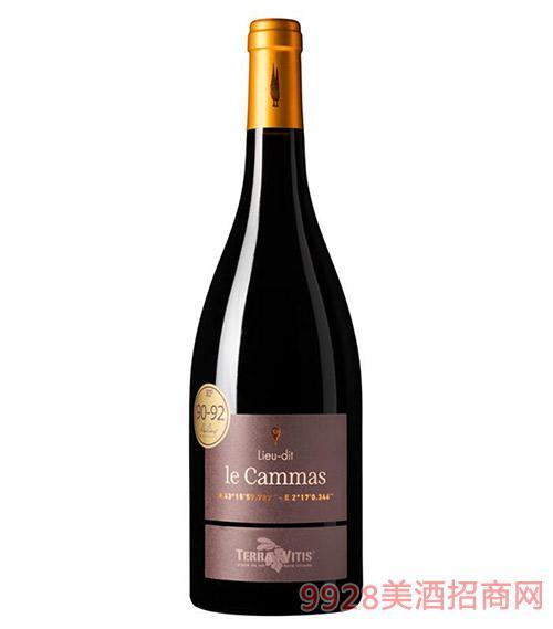 法国凡特纳坐标系列卡玛斯干红葡萄酒13.5度750ml