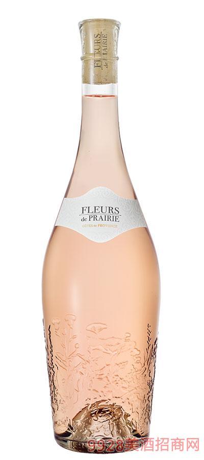 法国花影桃红葡萄酒12.5度750ml