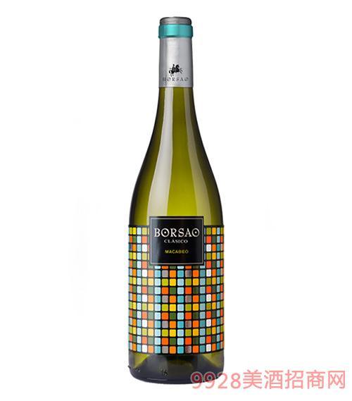 搏颂干白葡萄酒