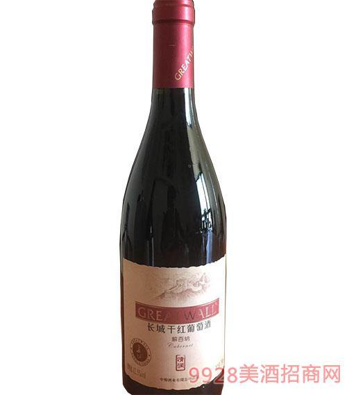 长城干红葡萄酒解百纳12.5度750ml