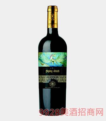 飞翔马梅洛红葡萄酒