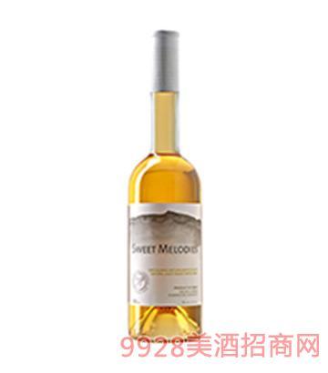 甜蜜旋律天然甜白葡萄酒