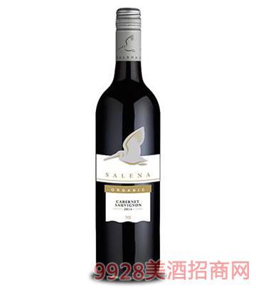 萨琳娜酒庄有机赤霞珠红葡萄酒14度750ml