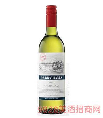 金斯顿酒庄墨累河沿岸2016年霞多丽葡萄酒